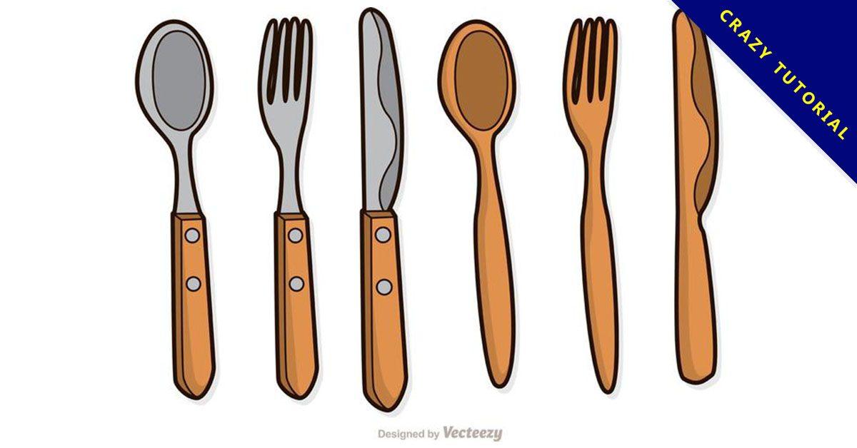 【湯匙素材】套 Illustrator 湯匙圖片下載,湯匙圖案推薦款