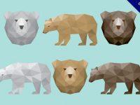 【熊卡通圖】39套 Illustrator 小熊圖案下載,熊插畫推薦款
