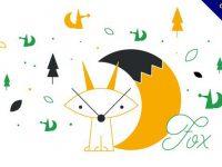 【狐狸卡通圖】43套 Illustrator 狐狸圖案下載,狐狸插畫推薦款