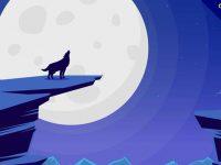 【狼卡通圖】38套 Illustrator 狼圖案下載,狼素材推薦款