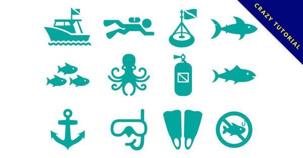 【章魚卡通圖】38套 Illustrator 章魚圖片下載,章魚圖案推薦款