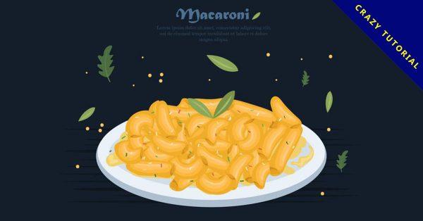 【義大利麵圖】31套 Illustrator 義大利麵圖片下載,義大利麵圖案推薦款