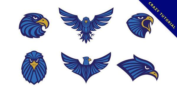 【老鷹圖騰】42套 Illustrator 老鷹圖案下載,老鷹圖片推薦款