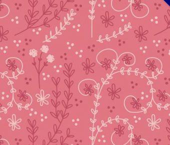 【花朵背景】35套 Illustrator 花朵符號下載,花朵素材推薦款