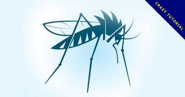 【蚊子卡通圖】30套 Illustrator 蚊子圖案下載,蚊子圖片推薦款