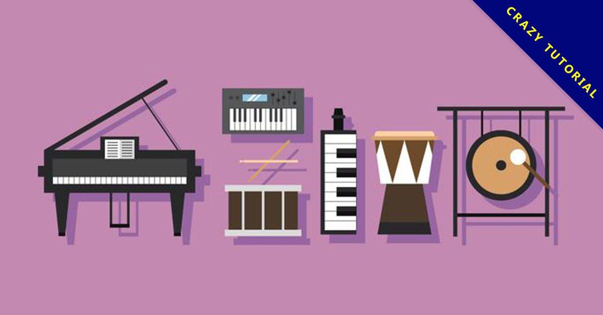 【鋼琴卡通】37套 Illustrator 鋼琴圖案下載,鋼琴插畫推薦款