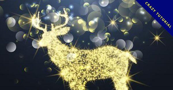 【麋鹿圖案】34套 Illustrator 麋鹿圖片下載,麋鹿插畫推薦款