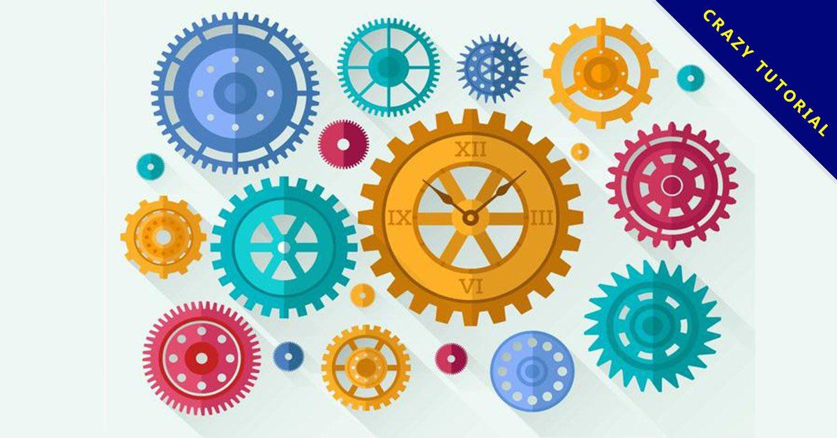 【齒輪素材】36套 Illustrator 齒輪icon下載,齒輪圖片推薦款