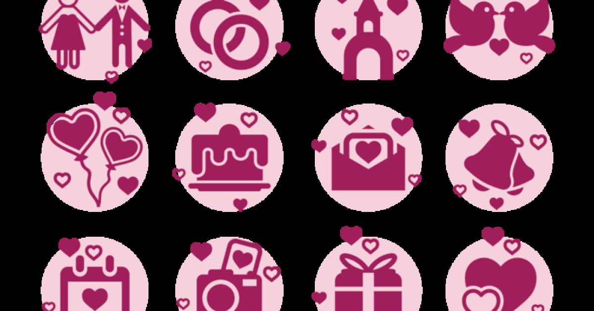 【婚禮素材】35套 Illustrator 婚禮卡片圖下載,婚禮背景推薦款