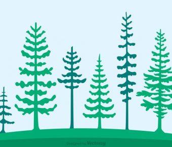 【森林圖片】34套 Illustrator 森林桌布下載,森林背景推薦款