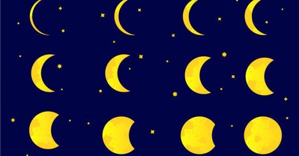 【月亮圖片】58套 Illustrator 月亮卡通圖下載,月亮素材推薦款