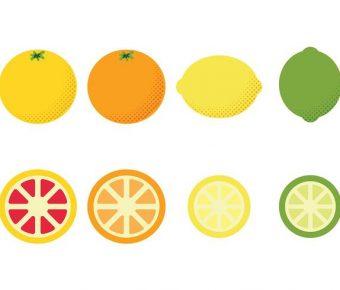 【檸檬圖片】73款Illustrator 檸檬圖案下載,q版檸檬素材推薦款