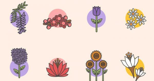 【春天背景】35套 Illustrator 春天圖片下載,春天素材推薦款