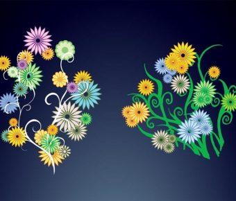 【菊花圖片】32套 Illustrator 菊花圖案下載,菊花圖騰推薦款