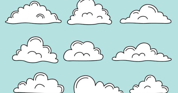 【雲素材】66套 Illustrator 雲朵素材下載,雲朵圖案推薦款
