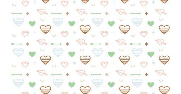 【心型圖案】35套 Illustrator 心型圖庫下載,心型素材推薦款