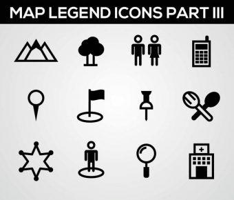 【地圖素材】60套 Illustrator 地圖圖示下載,地圖 icon推薦款