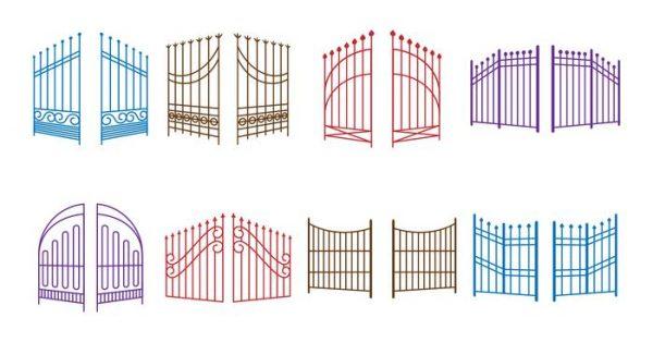 【門圖案】40套 Illustrator 門素材下載,大門圖示推薦款