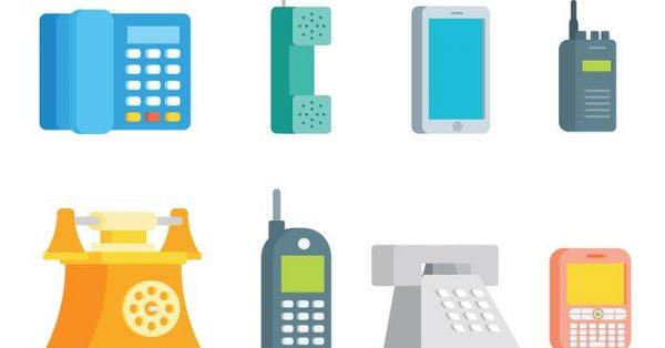 【電話符號】75套 Illustrator 電話圖片下載,電話素材推薦款
