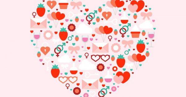 【愛心壁紙】34套 Illustrator 愛心小圖下載,愛心圖框推薦款