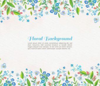 【花卉圖案】68套 Illustrator 花卉圖片下載,花卉素材推薦款