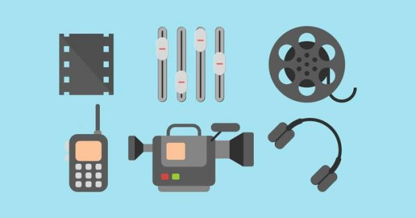 【攝影機圖示】40套 Illustrator 攝影機圖案下載,攝影機 icon推薦款