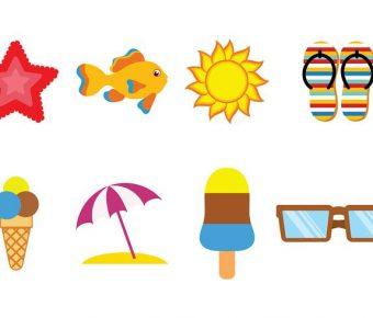 【夏天背景】42套 Illustrator 夏天素材下載,夏天桌布推薦款
