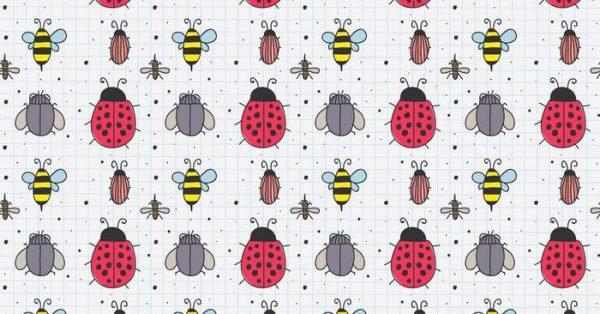 【瓢蟲圖案】37套 Illustrator 瓢蟲圖片下載,瓢蟲圖騰推薦款