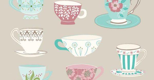 【茶壺圖案】35套 Illustrator 茶壺卡通圖下載,茶壺素材推薦款