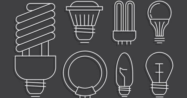 【燈泡 icon】42套 Illustrator 燈泡圖案下載,燈泡素材推薦款