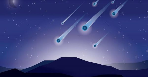 【流星圖案】32套 Illustrator 流星素材下載,流星圖片推薦款