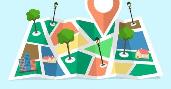 【地標圖案】32套 Illustrator 地標素材下載,導航圖推薦款