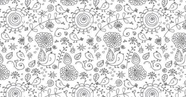 【花草素材】68套 Illustrator 花草圖案下載,花草背景推薦款