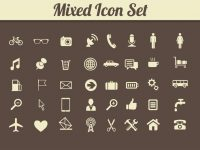 【web icon】35套 Illustrator web logo下載,web ai推薦款