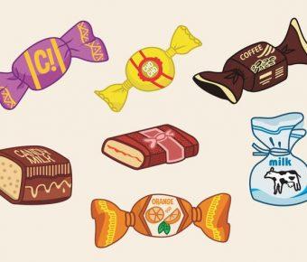 【糖果圖案】37套 Illustrator 糖果圖片下載,糖果卡通推薦款
