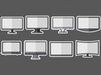 【電視素材】32套 Illustrator 電視圖案下載,電視插圖推薦款