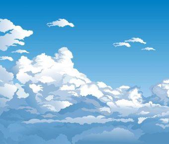 【天空背景】40套 Illustrator 天空圖片下載,天空壁紙推薦款