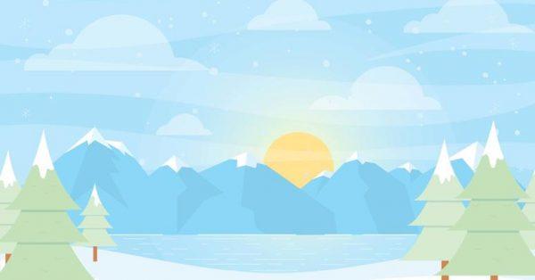 【冬天圖片】35套 Illustrator 冬天背景下載,冬天卡通圖推薦款