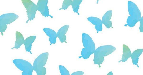 【蝴蝶圖案】38套 Illustrator 蝴蝶素材下載,蝴蝶卡通圖推薦款