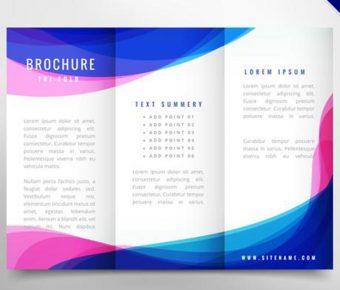 【三折頁範本】精選38款三折頁範本下載,設計範本免費推薦款
