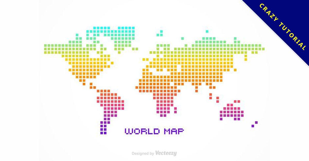 【世界地圖壁紙】精選35款世界地圖壁紙下載,世界地圖桌布免費推薦款