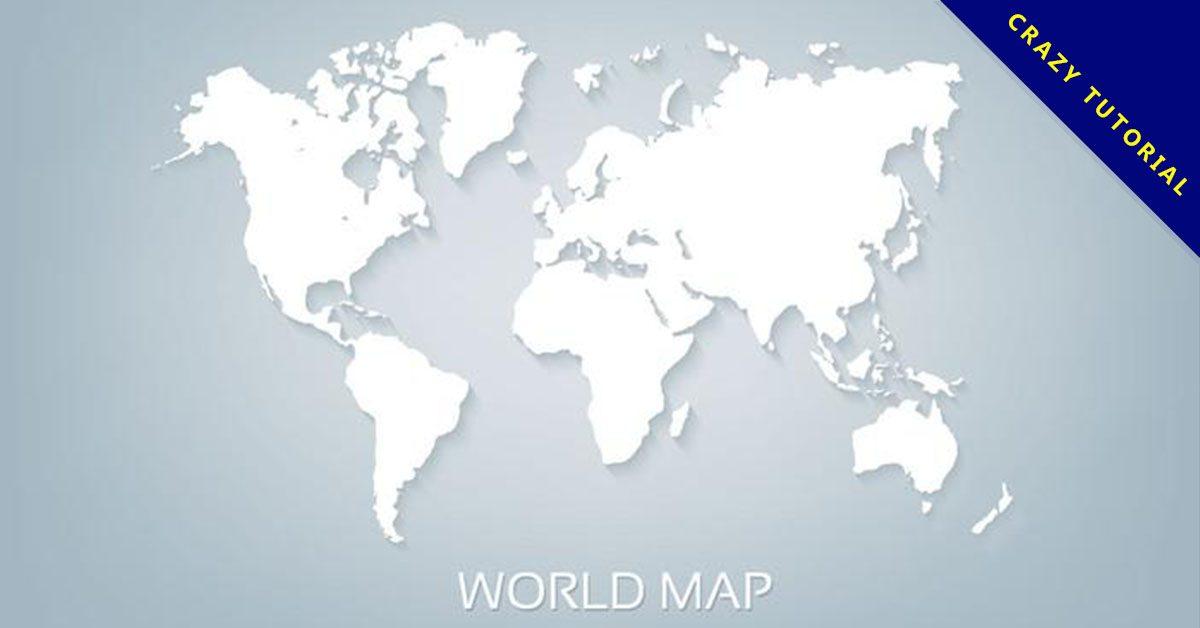 【世界地圖】精選38款世界地圖下載,世界地圖素材免費推薦款