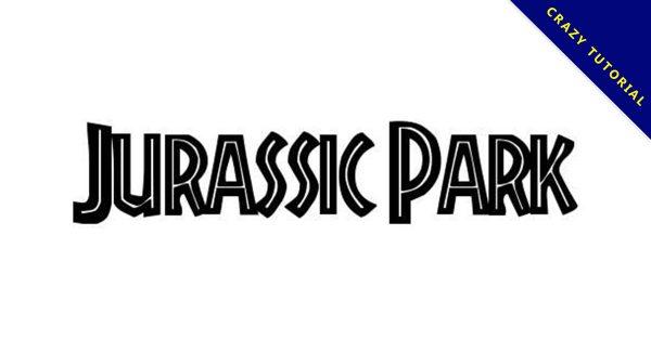 【侏儸紀字體】Jurassic Park 侏儸紀電影字體下載,侏儸紀標題首選