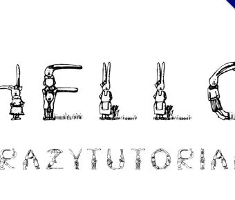 【兔子字體】可愛兔子風格字體下載,動物字體推薦款