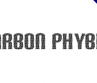 【卡夢字體】Carbon Phyber 卡夢質感字體下載
