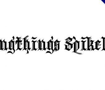 【英文刺青字】Kingthings 哥德刺青字體下載,刺青字首選
