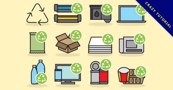 【回收標誌】精選35款回收標誌下載,資源回收標誌免費推薦款