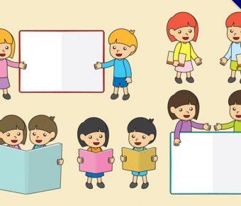 【學生圖像】精選35款學生圖像下載,學生卡通圖免費推薦款