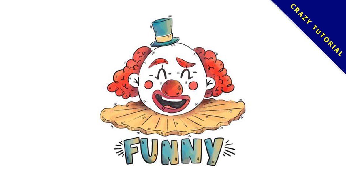 【小丑卡通】精選40款小丑卡通下載,小丑圖片免費推薦款