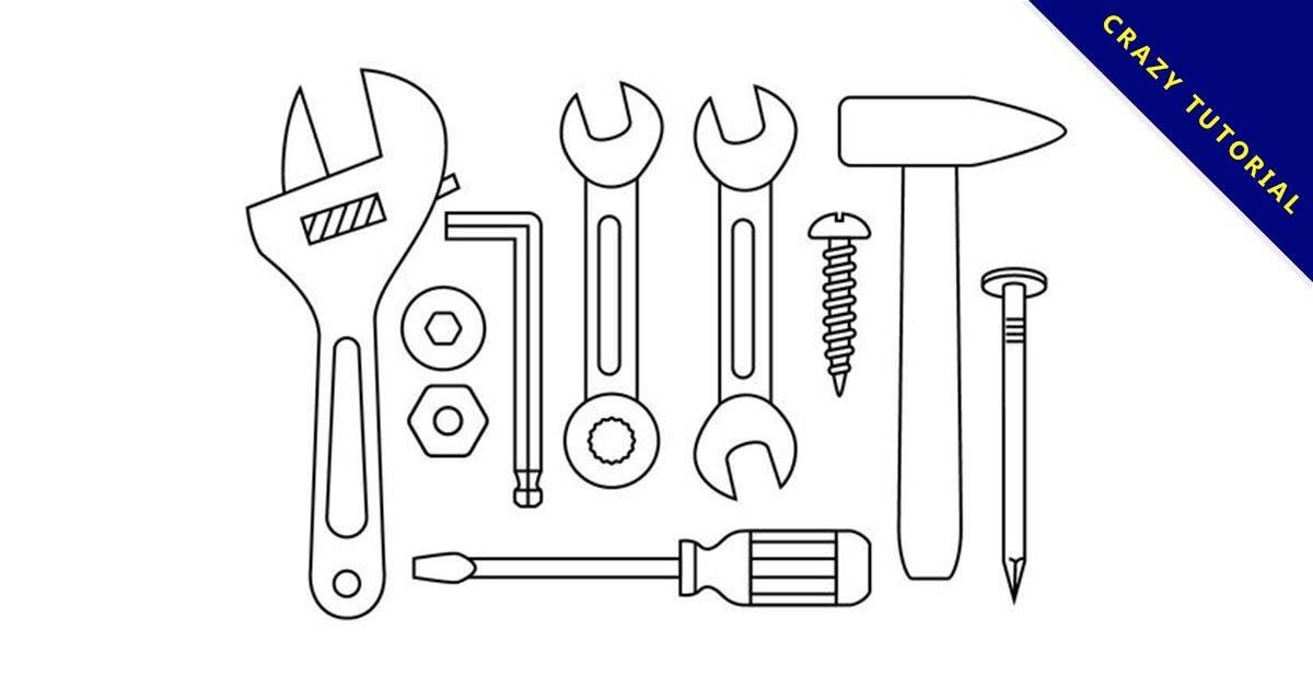 【工具icon】精選34款工具icon下載,工具卡通免費推薦款